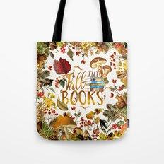 Fall Into Books Tote Bag