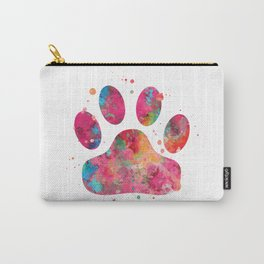 Colorful Paw Carry-All Pouch