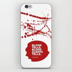 Dexter no.1 iPhone & iPod Skin