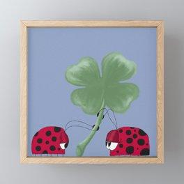 You Are My Good Luck Charm Framed Mini Art Print