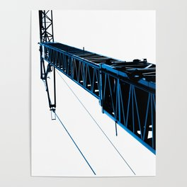 crane blue experience Poster