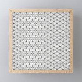 Geometric Pattern Light Framed Mini Art Print