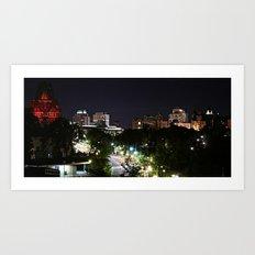 City of Ottawa Skyscape Art Print