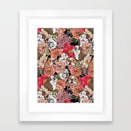 Because English Bulldog Framed Art Print