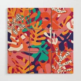 Matisse Pattern 006 Wood Wall Art