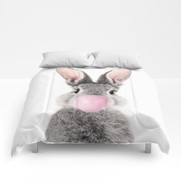 Bunny With Bubble Gum Comforters