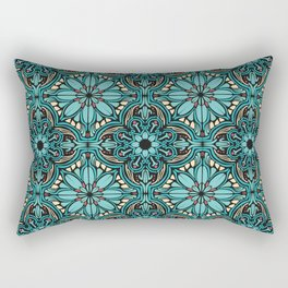 Mediterranean ornament in Oriental style Rectangular Pillow