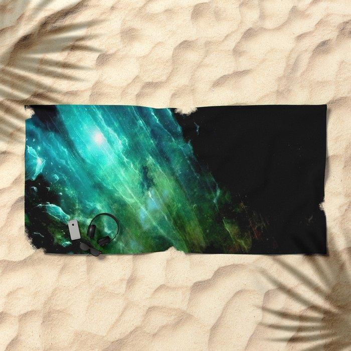 θ Serpentis Beach Towel