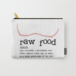 Raw Food Diet unisex Carry-All Pouch