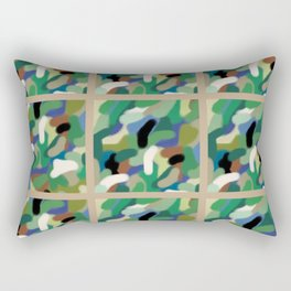 Camouflage in Windows Hero Tribute Rectangular Pillow