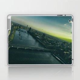 Sunset, in London Laptop & iPad Skin