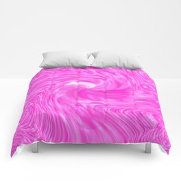 candy swirl Pink Comforters