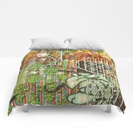 Crimson Petal's Lying Decay Comforters