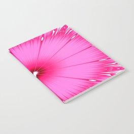 Bright Pink Flower Notebook