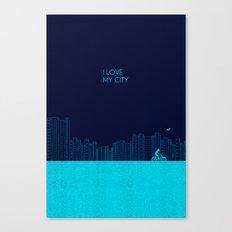 I love my City Canvas Print