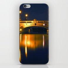 BERLIN NIGHT on the RIVER SPREE iPhone & iPod Skin