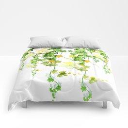 Watercolor Ivy Comforters