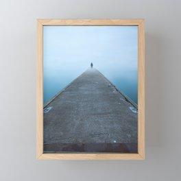 At the Edge of Infinity Framed Mini Art Print
