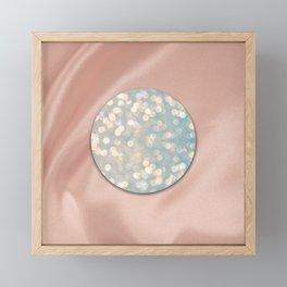 Bokeh Disc   Prism + Fleur Design Studio Framed Mini Art Print