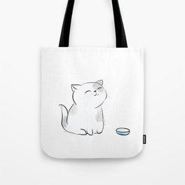 Feed me, Human. Tote Bag