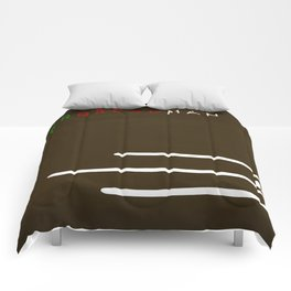 Gingerbread Man Minimalist Fairytales Comforters