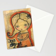 One Day At A Time Stationery Cards