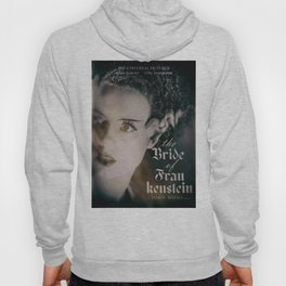 The Bride of Frankenstein, vintage movie poster, Boris Karloff cult horror Hoody