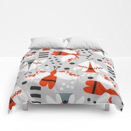 Decorated butterflies Comforters