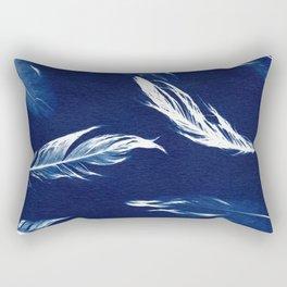 On A Feather Rectangular Pillow