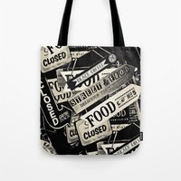 food Tote Bags featuring FOOD by Vivian Fortunato