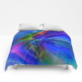 Abstract Composition 22 Comforters