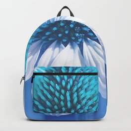 Coneflower blue 11 Backpack