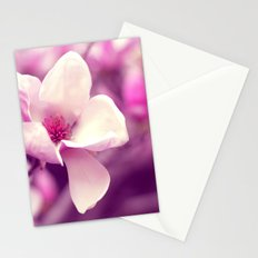 Lonely Flower - Radiant Orchid Stationery Cards