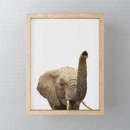 Elephant Photo, Safari Animal, Framed Mini Art Print