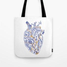 Kintsugi broken heart Tote Bag