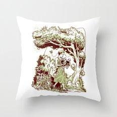 Intersectional Nature Throw Pillow
