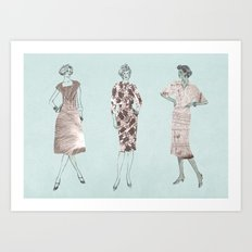 Strike A Pose Art Print