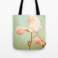 Aprils' Pink blossom Tote Bag