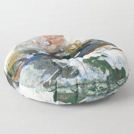 Mount Matterhorn Floor Pillow