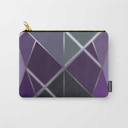 Mosaic tiled glass with a laser show Carry-All Pouch