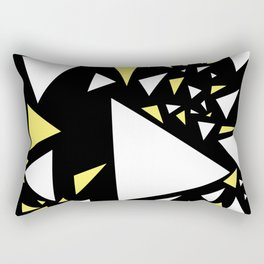 Triangles 3 Rectangular Pillow