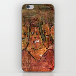 Zombies in a Red Dawn Apocalypse iPhone Skin