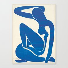 Blue Nude by Henri Matisse Canvas Print