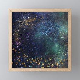 Exploring the Universe 3 Framed Mini Art Print