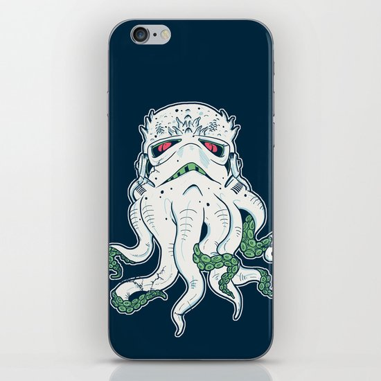 Stormthulhu iPhone & iPod Skin