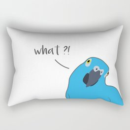 What?! Rectangular Pillow