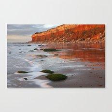 Hunstanton Cliffs, Norfolk Canvas Print