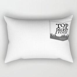 Top Pocket Find - Oak Island Gear Rectangular Pillow