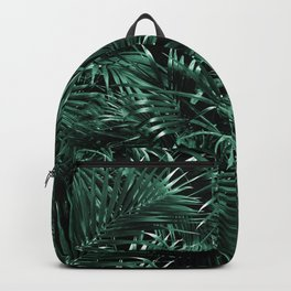Tropical Palm Leaf Jungle Night #1 #tropical #decor #art #society6 Backpack