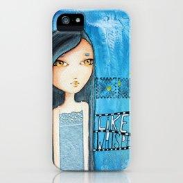 Like a whisper iPhone Case